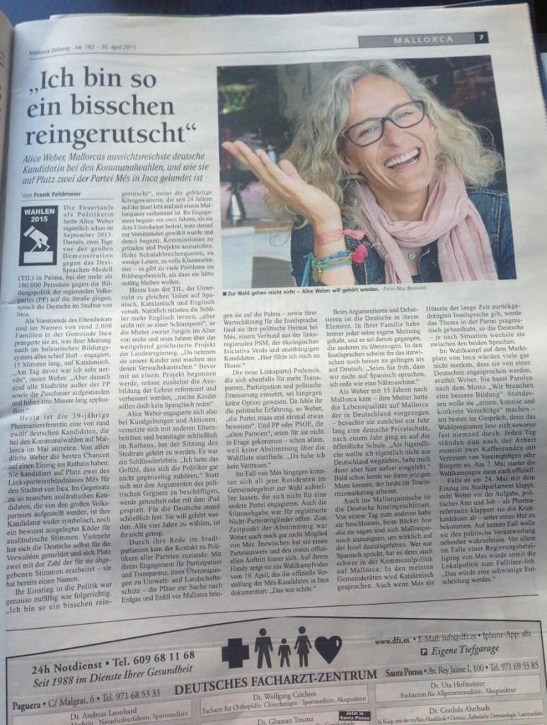 alice_weber_entrevista_mallorca_zeitung