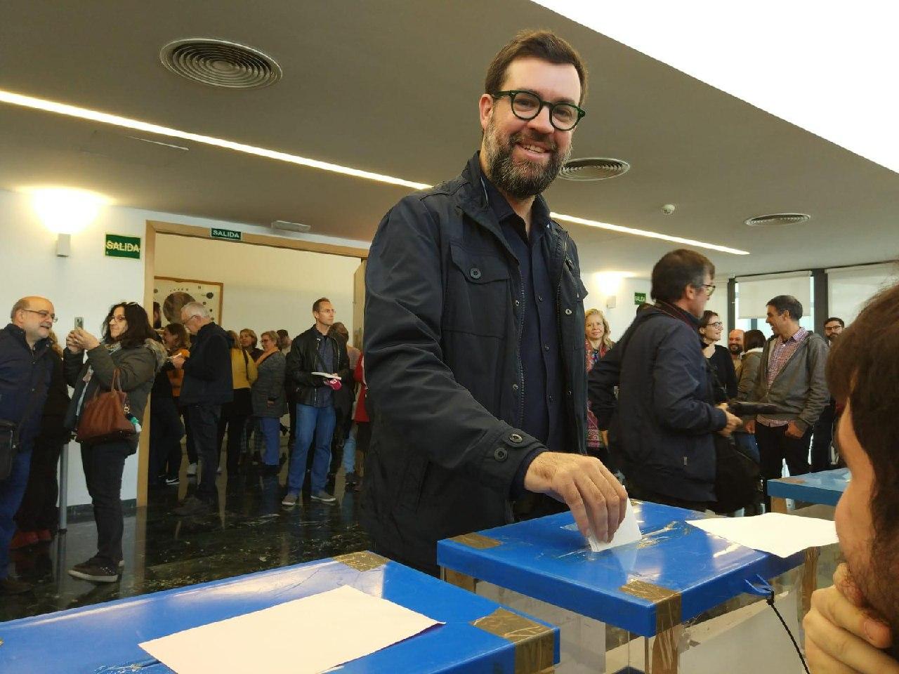 Antoni Noguera, cap de llista de MÉS per Palma per a les eleccions 2019