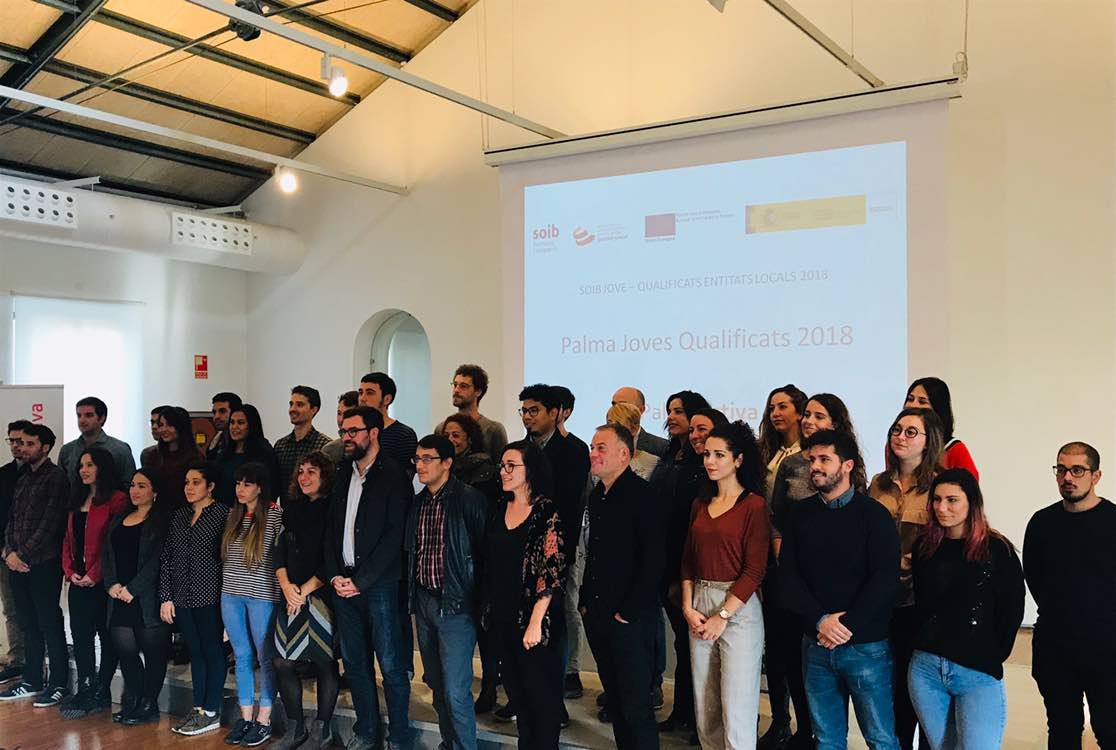 """PalmaActiva contractarà 26 joves durant 12 mesos en el marc  del programa """"Palma Joves Qualificats 2018"""""""