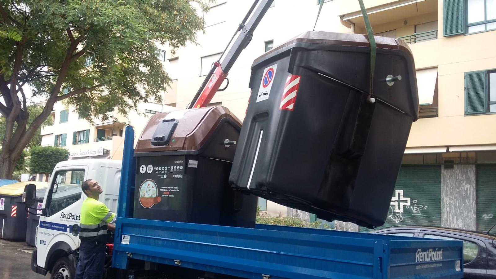 Primera fase de recollida de matèria orgànica a Palma