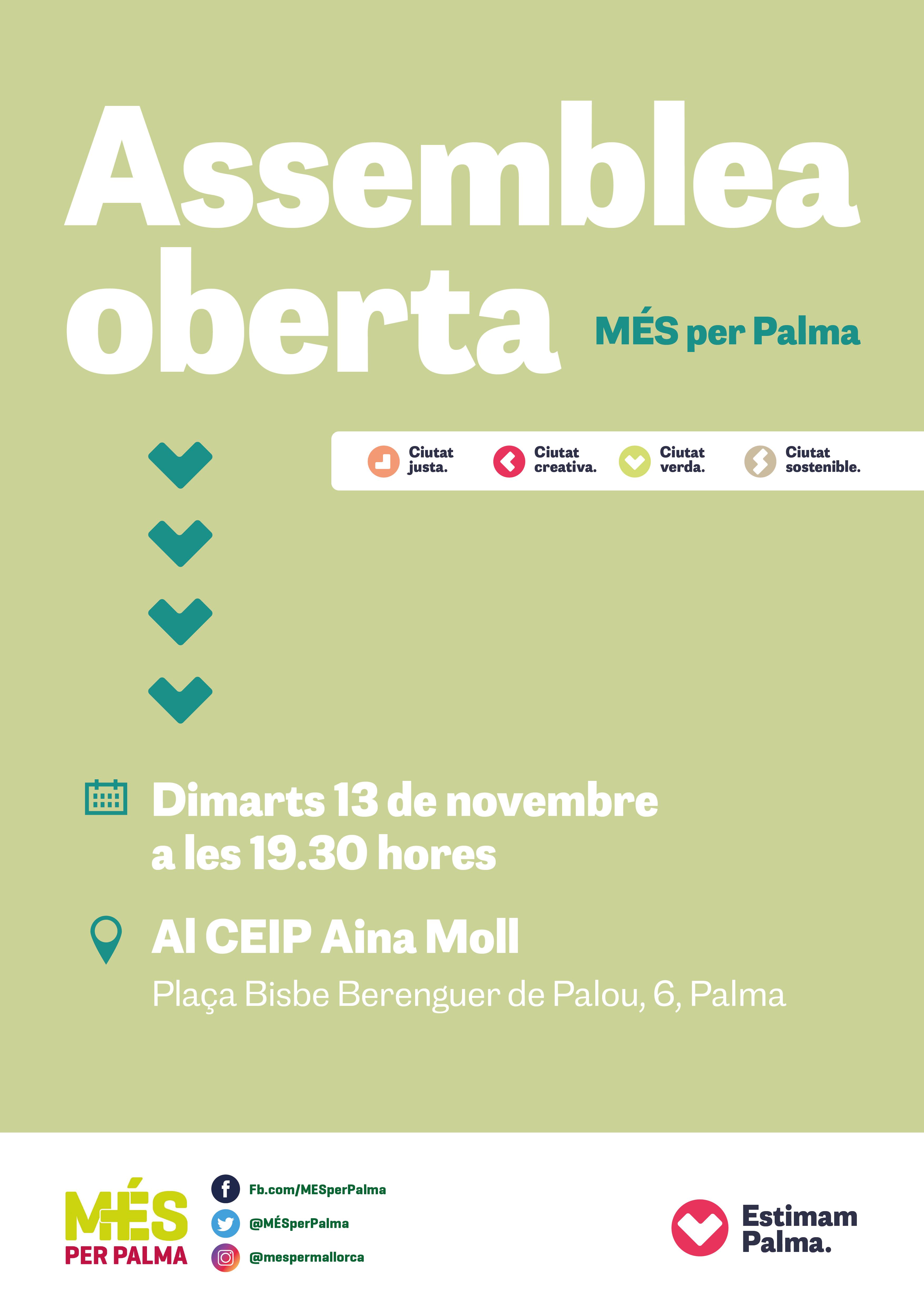 Assemblea oberta de MÉS per Palma
