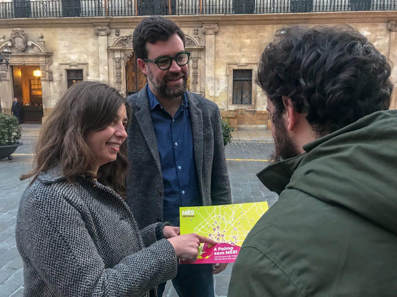 MÉS per Palma presenta el Mapa de la feina feta